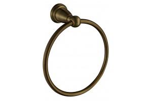 Вешалка для полотенец,кольцо Mona bronze